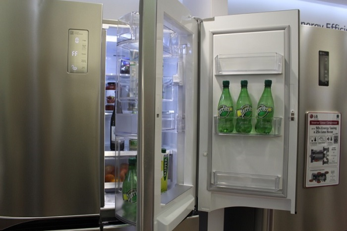Frigoriferi Side by side con tecnologia Door in door di LG | RIEM ...